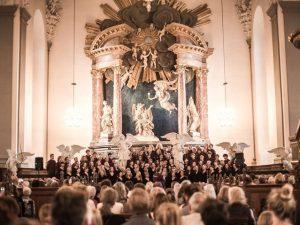 Korkoncert I Vor Frelser Kirke, København